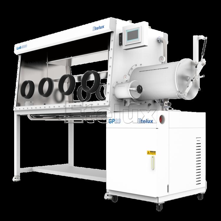 Lab2000-1800四工位分体式双面手套箱