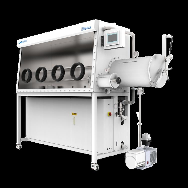 Lab2000-1800 双工位一体式单面手套箱