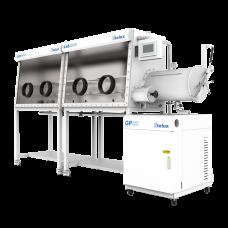 Lab2000-2400四工位分体式单面手套箱